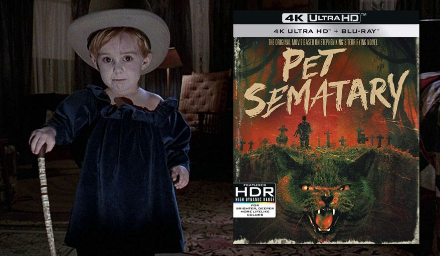 "Gage Creed (Miko Hughes) has a creepy look in ""Pet Sematary: 30th Anniversary Edition,"" now available on 4K Ultra HD from Paramount Pictures Home Entertainment."