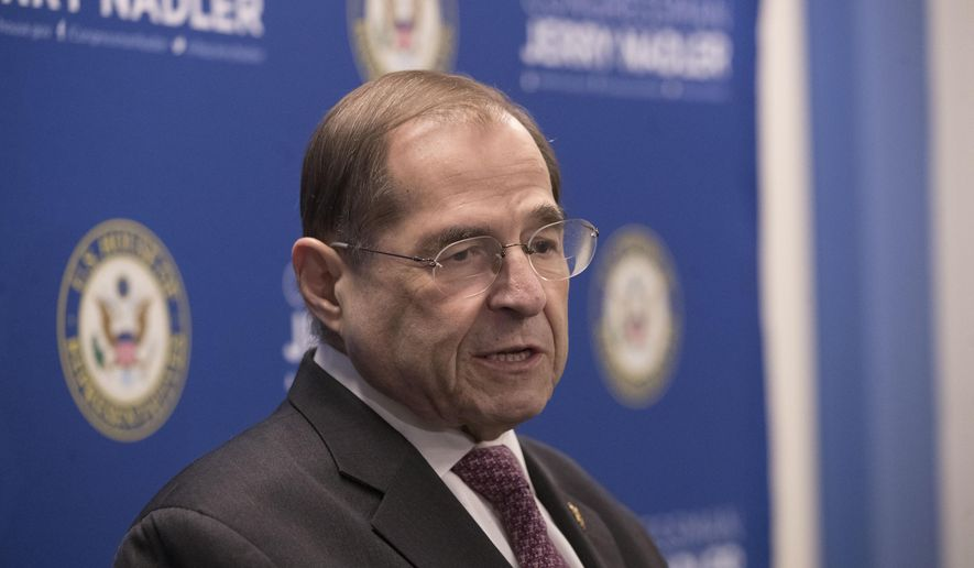 Jerry Nadler, House chairman, to subpoena full Mueller report