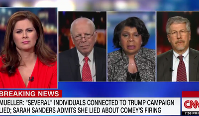CNN's April Ryan discusses special counsel Robert Mueller's report, April 17, 2019. (Image: CNN screenshot)