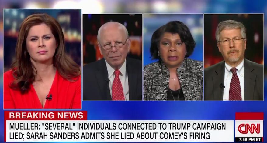 CNN's April Ryan discusses special counsel Robert Mueller's report, April 17, 2019. (Image: CNN screenshot)