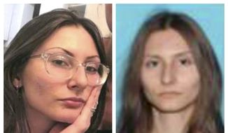 """This combination of undated photos released by the Jefferson County, Colo., Sheriff's Office on Tuesday, April 16, 2019 shows Sol Pais. A Colorado undersheriff who led the search for the Florida teen whose actions prompted tightened security at Columbine High School says she likely killed herself on Monday evening, April 15, 2019, before police launched a massive manhunt. FBI officials were concerned that Pais, 18, planned an attack of her own because she was """"infatuated"""" with the 1999 Columbine school shooting. Her body was found west of Denver on Wednesday. (Jefferson County Sheriff's Office via AP, File) **FILE**"""