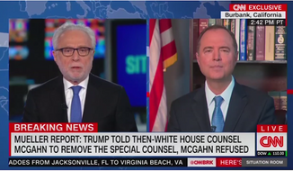 """Network analysts, particularly on CNN and MSNBC, appear obsessed with """"impeachment"""" according to a new study from Newsbusters.org. (CNN)"""