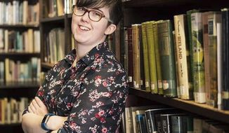 In this undated family photo made available Friday April 19, 2019, issued by Northern Ireland Police, showing journalist Lyra McKee who was shot and killed when guns were fired during clashes with police Thursday night April 18, 2019, in Londonderry, Northern Ireland.  Police are investigating the shooting death of 29-year-old McKee, during street violence Thursday night.(Family photo/PSNI via AP)