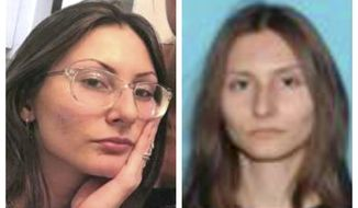 """FILE - This combination of undated photos released by the Jefferson County, Colo., Sheriff's Office on Tuesday, April 16, 2019 shows Sol Pais. A Colorado undersheriff who led the search for the Florida teen whose actions prompted tightened security at Columbine High School says she likely killed herself on Monday evening, April 15, 2019, before police launched a massive manhunt. FBI officials were concerned that Pais, 18, planned an attack of her own because she was """"infatuated"""" with the 1999 Columbine school shooting. Her body was found west of Denver on Wednesday. (Jefferson County Sheriff's Office via AP, File)"""