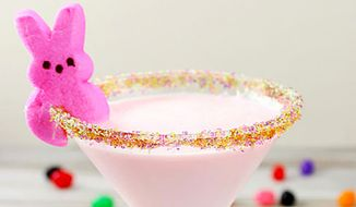 Just Born, maker of the famous Peeps marshmallow chicks, now offers a recipe for the official Peeps Cocktail at Easter time. (Just Born)