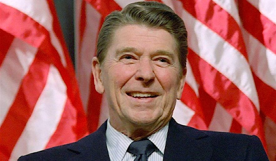 An undated file photo of Ronald Reagan. (Associated Press) ** FILE **