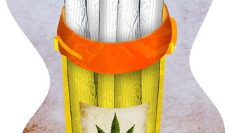 Marijuana Prescription Illustration by Greg Groesch/The Washington Times