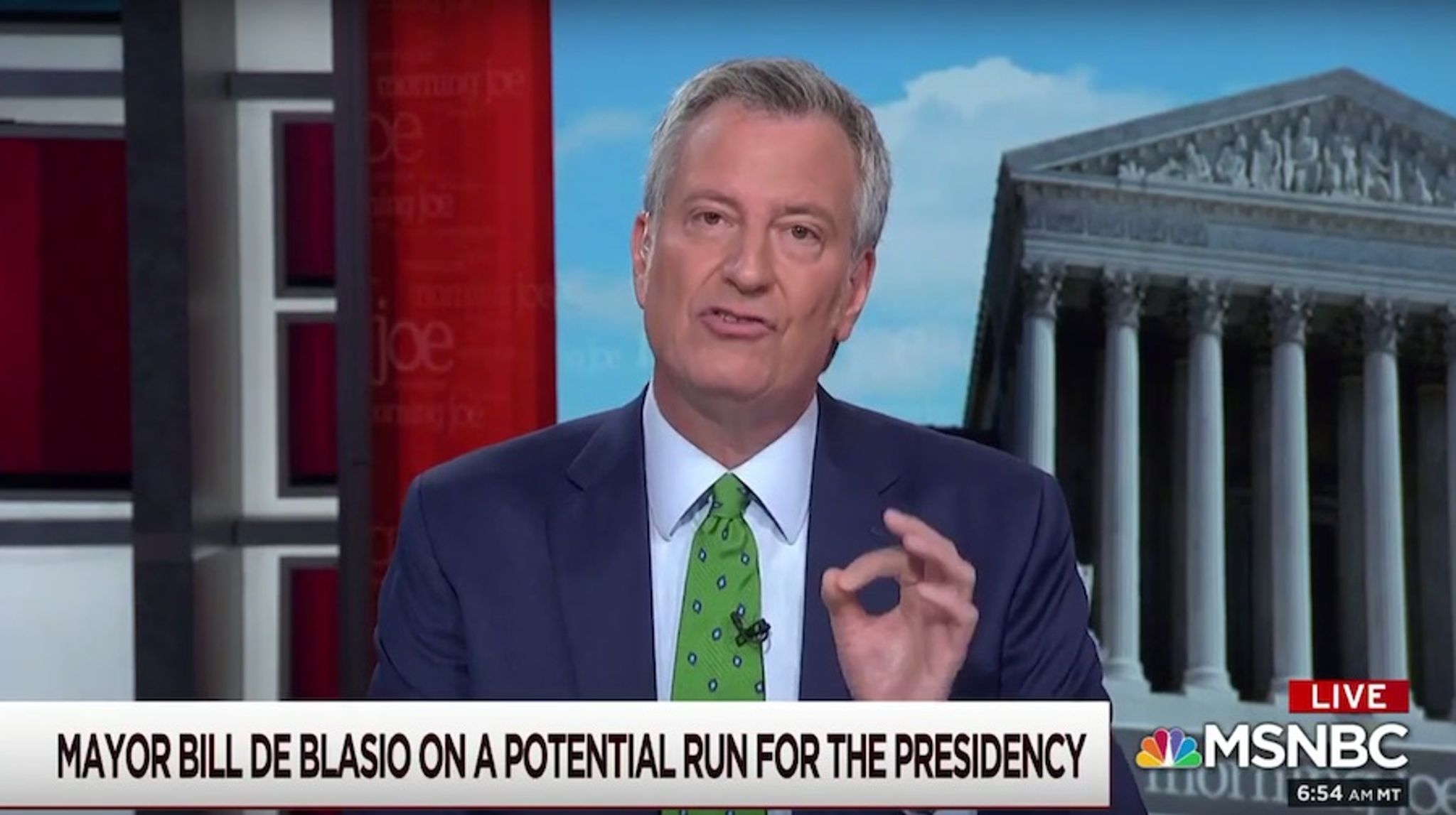 Bill de Blasio: Big Apple will go small, ditch 'classic' skyscrapers in NYC's own 'Green New Deal'