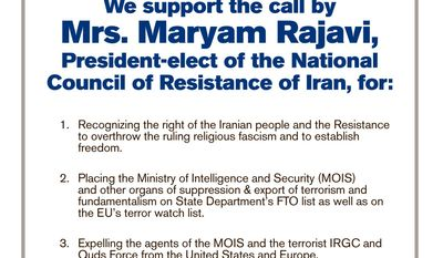 Iranian-Americans Laud the Designation of the Islamic Revolutionary Guard Corps as a Foreign Terrorist Organization (Sponsored)