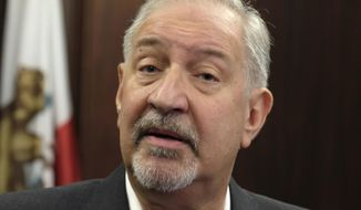 """This Sept. 2, 2016, file photo shows attorney Mark Geragos talking to the media during a news conference in downtown Los Angeles. Two brothers who said they helped Jussie Smollett stage a racist and homophobic attack against himself are suing the """"Empire"""" actor's attorneys including Geragos, for defamation. A lawyer for Olabinjo Osundairo and Abimbola Osundairo filed the federal lawsuit Tuesday, April 23, 2019, in Chicago. (AP Photo/Richard Vogel, File)"""