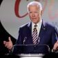 """Former Vice President Joesph R. Biden leads the pack of Democratic potential hopefuls. His next biggest rival? """"Don't know"""" says survey. (Associated Press)"""