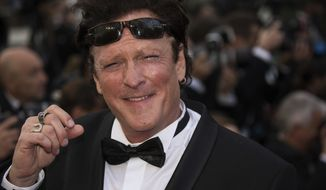 Michael Madsen poses for photographers upon arrival at the premiere of the film 'BlacKkKlansman' at the 71st international film festival, Cannes, southern France, Monday, May 14, 2018. (Photo by Vianney Le Caer/Invision/AP)