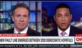 CNN hosts Chris Cuomo and Don Lemon agreed Tuesday night that Sen. Bernie Sanders' proposal to let felons vote from prison isn't going to be a winning issue among Americans. (CNN)