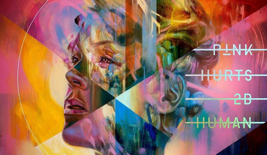"""This cover image released by RCA shows """"Hurts 2B Human,"""" a release by Pink. (RCA via AP)"""