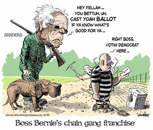 Boss Bernie's chain gang franchise