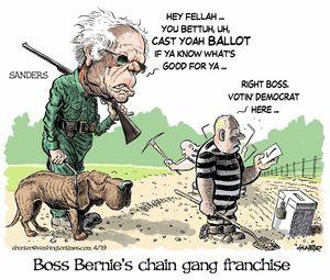 Boss Bernie's chain gang franchise