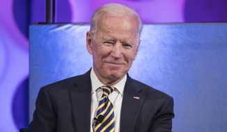 Joe Biden was going to kick off his campaign with a live appearance in Charlottesville, but someone told him that would be too tacky. (Associated Press)
