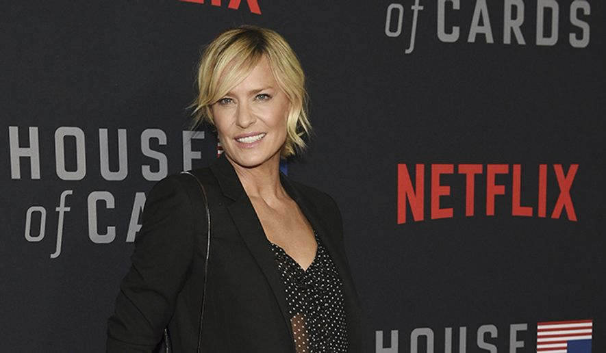 9. Robin Wright. Earnings: $9 million, House of Cards