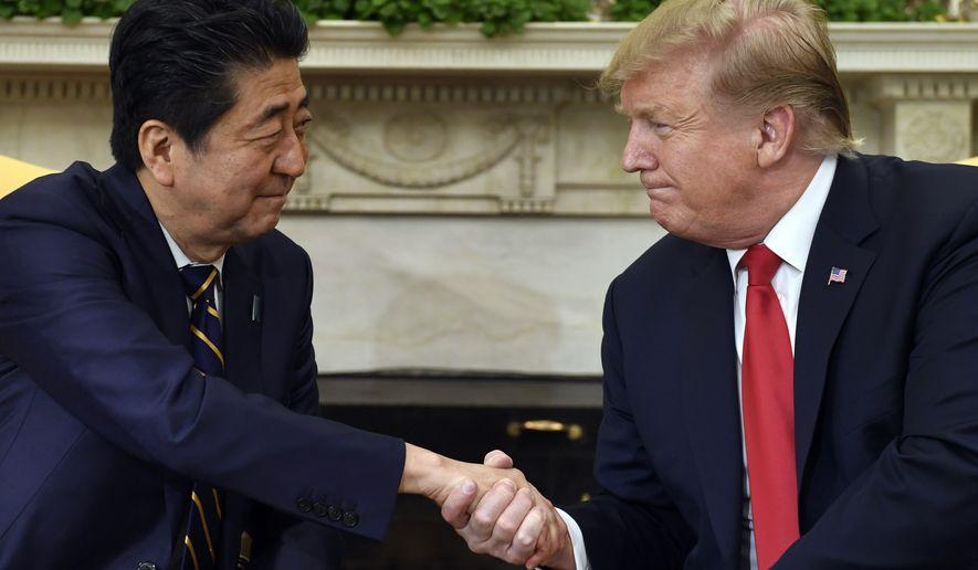 Optimism Greets Investors Sudden >> Trump Optimistic About Japanese Trade Deal Washington Times