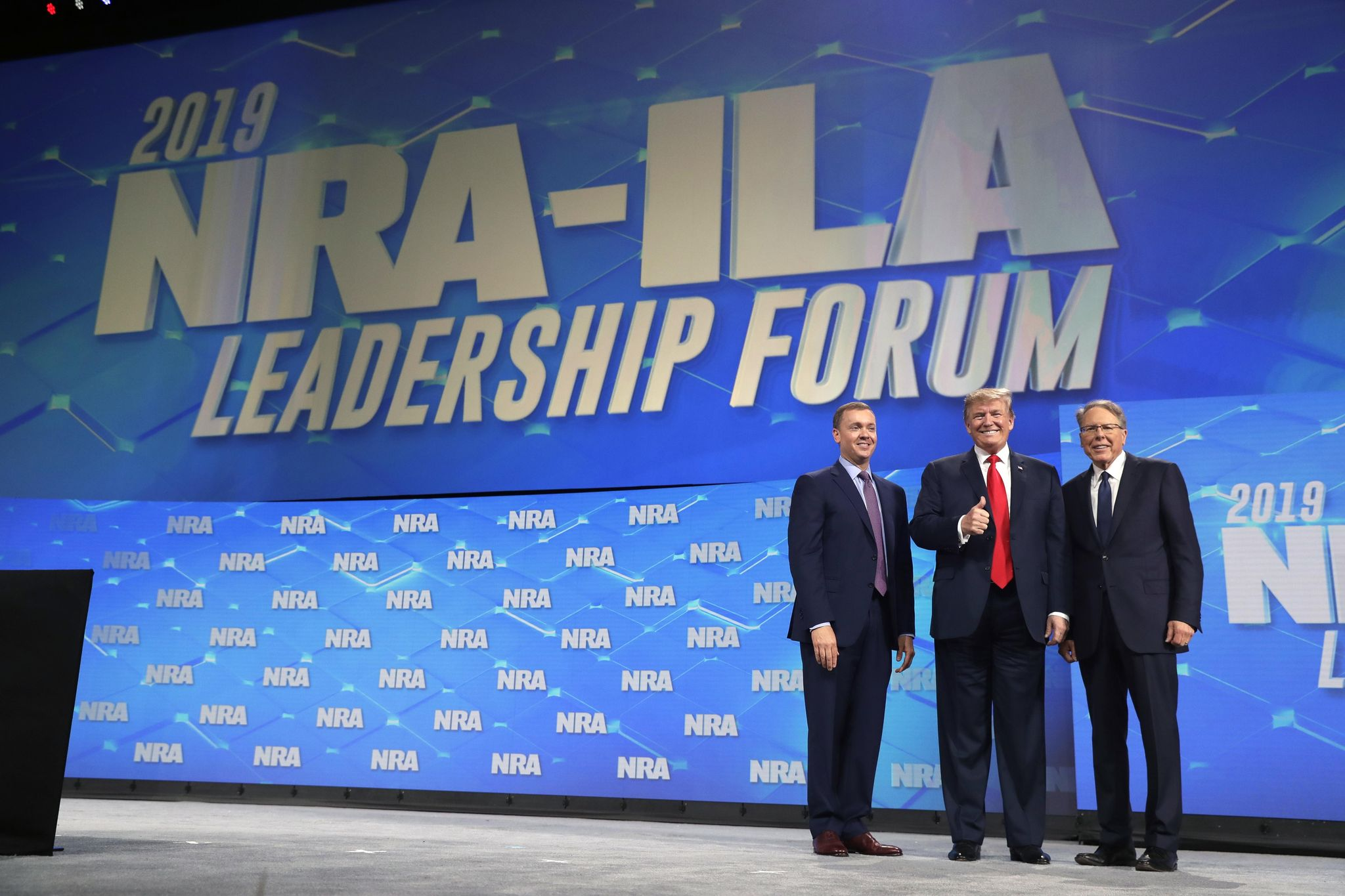 NRA sues former president Oliver North, suspends chief lobbyist