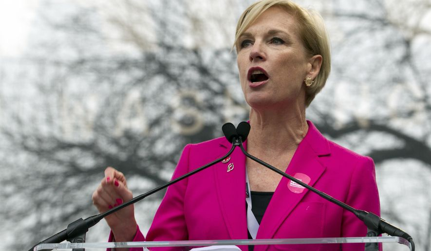 FILE - In this Jan. 21, 2017, file photo, President Planned Parenthood Federation of America Cecile Richards speak to the crowd during the women's march rally in Washington. Richards and two other women of the nation's most influential activists are launching a new organization that aims to harness the political power of women to influence elections and shape local and national policy priorities. ( AP Photo/Jose Luis Magana, File)