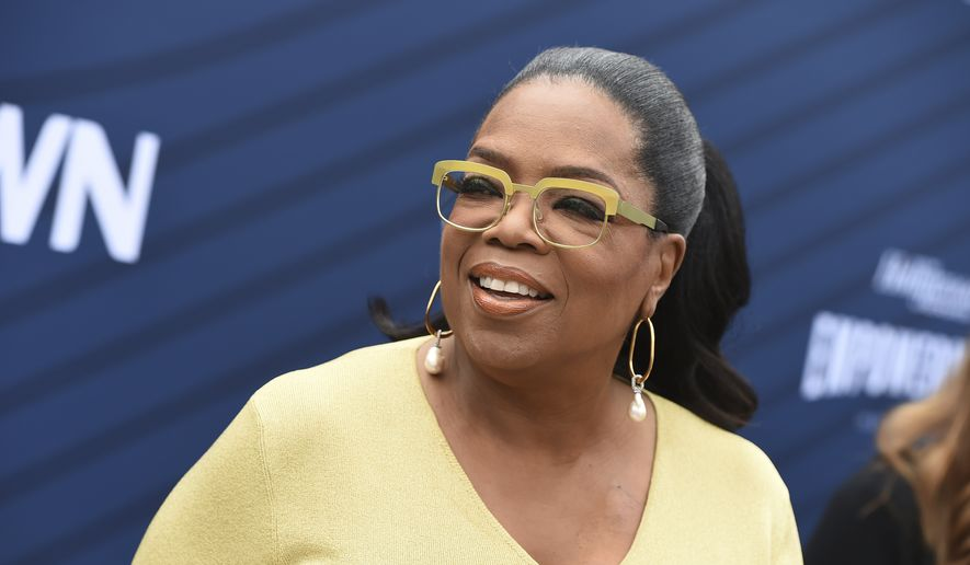Oprah Winfrey arrives at THR's Empowerment in Entertainment Gala at Milk Studios on Tuesday, April 30, 2019, in Los Angeles. (Photo by Jordan Strauss/Invision/AP)