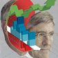 Illustration on Steve Moore by Linas Garsys/The Washington Times