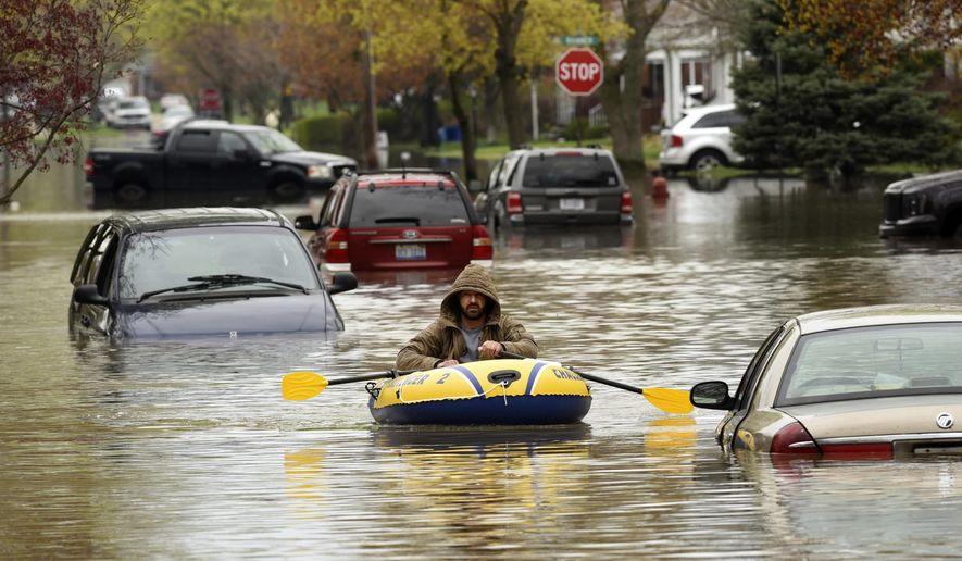 Michigan Governor Declares Flood Emergency In Wayne County Washington Times