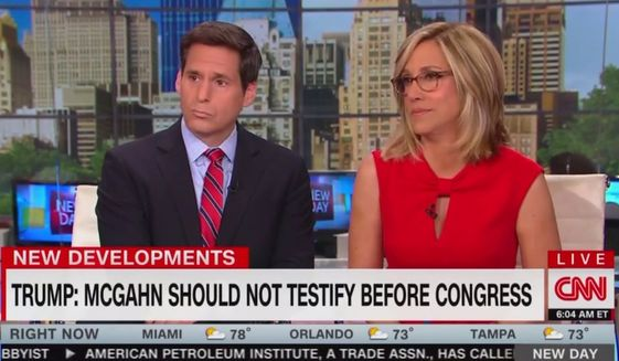 "CNN's Alisyn Camerota apologized for her demeanor to her ""New Day"" audience, May 3, 2019. The anchor said of special counsel Robert Mueller's report: ""I'm sorry if it sounds like they've broken my spirit."" (Image: CNN screenshot)"