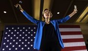 """""""When you get that rich, it shouldn't be just your real estate [that is taxed]. It should be the stock portfolio, the diamonds, the Rembrandt and the yacht,"""" Sen. Elizabeth Warren said. (Associated Press)"""