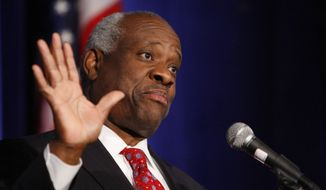 Supreme Court Justice Clarence argued last week in his opinion in Gamble v. United States that a judge's duty to interpret the Constitution trumps stare decisis, and if the courts got it wrong in the past, then they need to fix it rather than stick with incorrect precedent. (Associated Press/File)