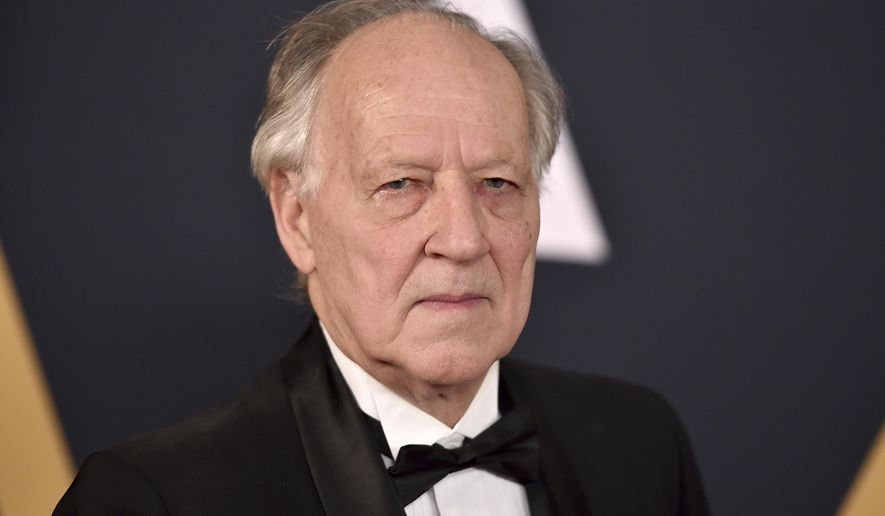 "FILE - In this Nov. 12, 2016 file photo, Werner Herzog arrives at the 2016 Governors Awards in Los Angeles. Herzog is calling ""The Mandalorian"" a phenomenal achievement"" after joining the cast of the streaming series set in the ""Star Wars"" universe. The series, starring Pedro Pascal, Gina Carano and Carl Weathers, is set to premiere in November 2019. with the launch of the new Disney Plus streaming service. (Photo by Jordan Strauss/Invision/AP, File)"