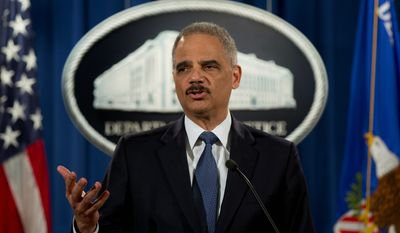 As attorney general, Eric H. Holder Jr. thwarted an investigation into the Fast and Furious operation, in which federal agents allowed guns to be sold to traffickers. He refused to give Congress documents about the Obama administration's public relations strategy. (Associated Press/File)