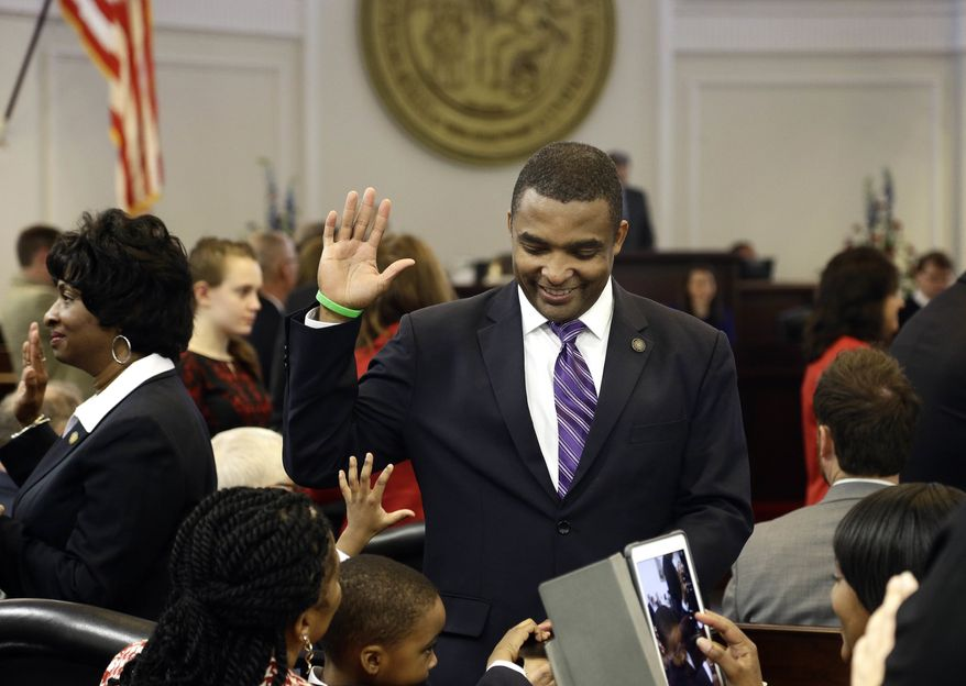 State Sen. Don Davis, who became the hero of North Carolina's pro-life movement last week when he crossed party lines again to thwart Democratic Gov. Roy Cooper's veto, sending the override measure to the House. (Associated Press)