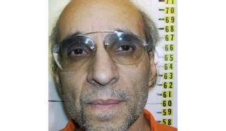 FILE - This undated file photo provided by Nevada Department of Corrections shows Tracy Petrocelli. The Nevada inmate on death row for more than 30 years is headed back to court to try to get his execution sentence reduced to life in prison without parole. A federal appeal court upheld Petrocelli's 1982 murder conviction two years ago but ruled his rights had been violated during the penalty phase of his trial. Jury selection for the rehearing of his sentence is scheduled to begin Monday, May 6, 2019, in Washoe District Court in Reno. (Nevada Department of Corrections via AP, File)