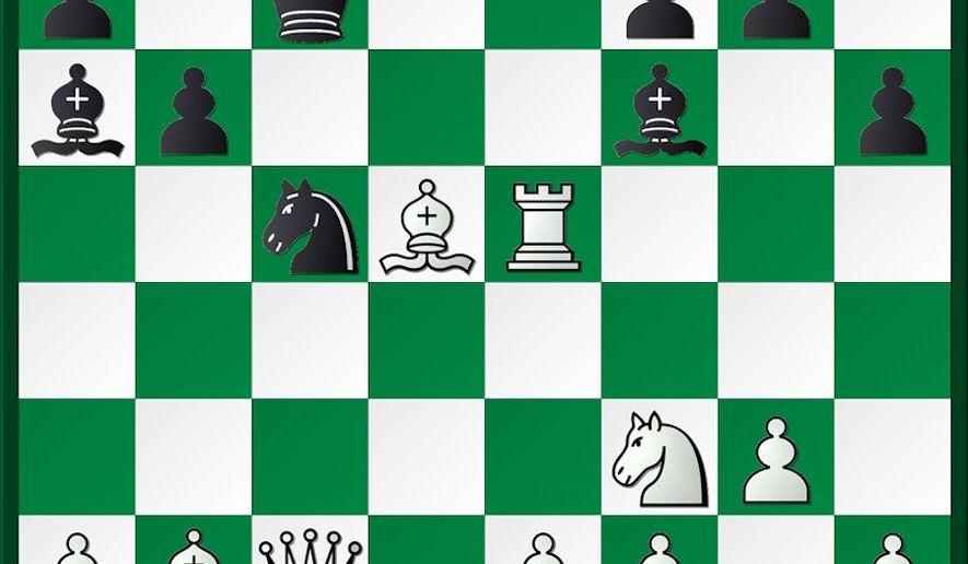 Shabalov-Speelman after 20. Bd5.