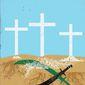 Illustration on Iran's war on Christianity by Linas Garsys/The Washington Times