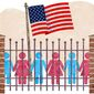 Security Fence Illustration by Greg Groesch/The Washington Times