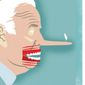 Illustration on Joe Biden by Linas Garsys/The Washington Times