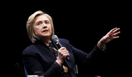 Hillary Clinton's interview with the FBI has been the subject of much criticism. (Associated Press) ** FILE **