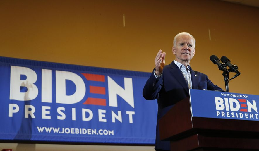 Joe Biden up big in South Carolina with 46 percent support: Poll