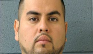 This undated photo provided by the FBI shows Arnoldo Jimenez. The FBI has added Jimenez to its Ten Most Wanted list. He is being sought for the 2012 killing of his new wife the morning after their wedding. The FBI on Wednesday, May 8, 2019, said authorities believe Jimenez may have fled to Mexico.  Jimenez is the 522nd fugitive named to the list since its inception in 1950. (FBI via AP)