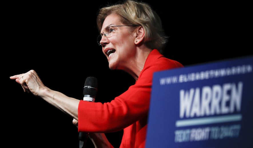 Special Education Chiefs To Devos Dont >> Elizabeth Warren Vows To Appoint Public School Teacher As Education