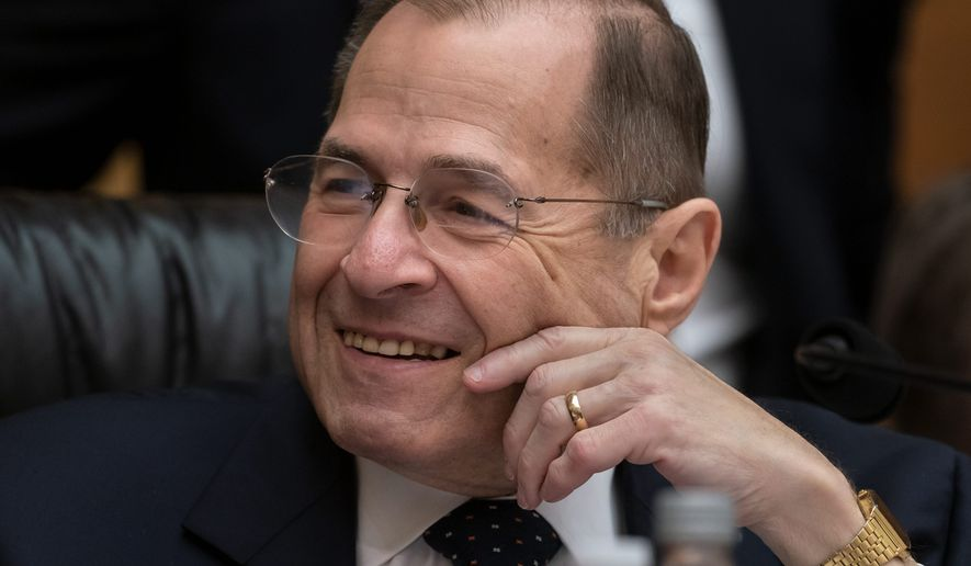 "Rep. Jerrold Nadler of New York is now saying he ""never intended"" for the release of confidential grand jury information. (Associated Press)"
