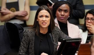 Republican lawmakers on Capitol Hill are intent on having a vote on Rep. Alexandria Ocasio-Cortez's Green New Deal. Their aim is to embarrass Democrats, the GOP is also running a petition drive to force a vote on an abortion bill. (Associated Press)