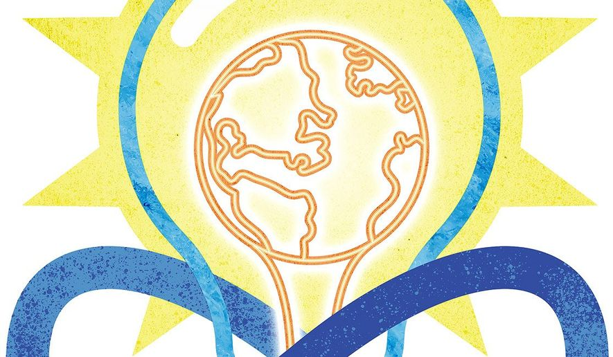 Infinite Resources Illustration by Greg Groesch/The Washington Times