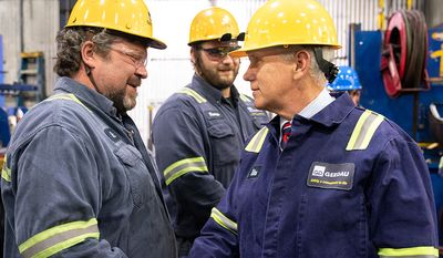 Vice President Pence Visits Gerdau St. Paul Steel Mill in Minnesota Thursday, May 9, 2019 (Official White House Photo by D. Myles Cullen)
