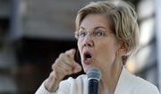 """""""The overwhelming majority of Americans have no desire to return to the world before Roe v. Wade. And so the time to act is now,"""" said Sen. Elizabeth Warren of Massachusetts. (Associated Press)"""