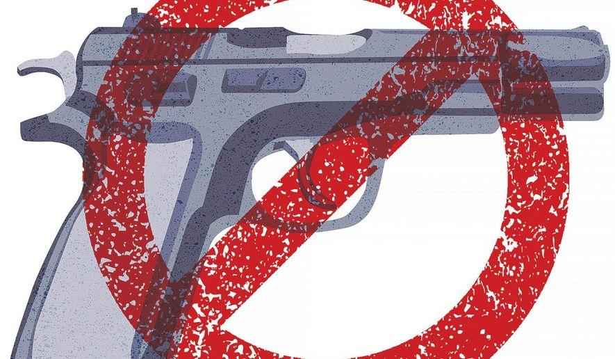U.N. Gun Grab Illustration by Greg Groesch/The Washington Times
