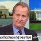 Actor Jeff Daniels talks about the Trump administration during a May 20, 2019, interview on MSNBC. (Image: MSNBC screenshot)
